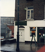Old amateur photos of Dublin streets churches, cars, lanes, roads, shops schools, hospitals January 1992