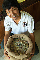 Lee Anu Chuepa is a young coffee entrepeneur speciaizling in fair-trade, organic coffee grown by his neighbors, family and friends in Chiang Rai Province, and a cafe and distribution and roasting in Chiang Mai.