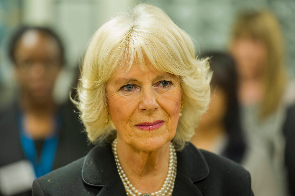 The Duchess of Cornwall, Patron, Arthritis Research UK, visits and meets patients of the Adolescent Inpatient Unit at University College London Hospitals.  •Her Royal Highness then tours a laboratory at the Arthritis Research UK Centre for Adolescent Rheumatology and meeting researchers and supporters. London 12 Feb 2015.