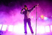 COLUMBIA, MD - May 31, 2015 - The Weeknd performs at the 2015 Sweetlife Festival at Merriweather Post Pavilion in Columbia, MD. (Photo by Kyle Gustafson / For The Washington Post)