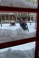 Red London Telephone Box, Bank, London, Britain 2 Feb 2009