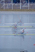 Sydney, AUSTRALIA,  Double Exposure. 2000 Olympic Regatta, West Lakes Penrith. NSW.  [Mandatory Credit. Peter Spurrier/Intersport Images] Sydney International Regatta Centre (SIRC) 2000 Olympic Rowing Regatta00085138.tif