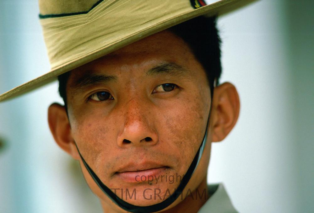 Gurkha soldier in Hong Kong