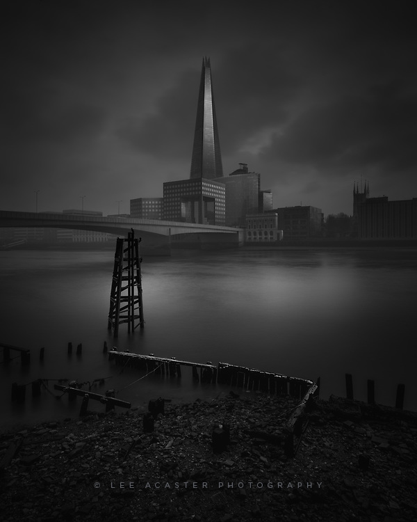 The old and the new by the Thames
