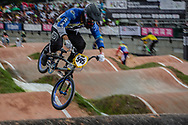 #595 (MOLINA Gonzalo) ARG at the 2016 UCI BMX World Championships in Medellin, Colombia.