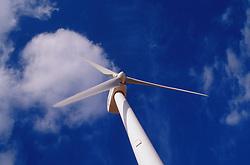 Single electricity generator on wind farm,