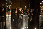 Nathalie Harrison , 130 Years Of Veuve Clicquot Yellow, The Wapping Project, Wapping Wall, London, E1,13 November 2007. -DO NOT ARCHIVE-© Copyright Photograph by Dafydd Jones. 248 Clapham Rd. London SW9 0PZ. Tel 0207 820 0771. www.dafjones.com.