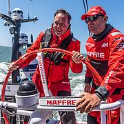 The Hague stopover. Pro-Am race 3 & 4 on board MAPFRE. 29 June, 2018.