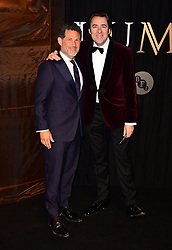 Josh Berger and Jonathan Ross attending the BFI Luminous Fundraising Gala held at the Guildhall, London.