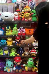 July 5, 2018 - Tokyo, Japan - Pokemon's ''Pikachu'' and Nintendo's Super Mario stuffed toys are pictured at a shop in Tokyo, Japan, July 05, 2018. (Credit Image: © Hitoshi Yamada/NurPhoto via ZUMA Press)