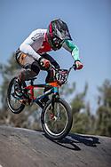 #179 (MARQUART Simon M.) SUI at round 8 of the 2018 UCI BMX Supercross World Cup in Santiago del Estero, Argentina.
