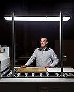 Dino Saglietto, presidente di C.I.P. COOP. La cooperativa nasce sulle ceneri della Intec e mette insieme il precedente personale assieme all'esperienza pluriennale nel campo della costruzione di pavimenti sopraelevati.