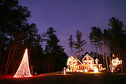 An image from the series Season's Greetings, documenting Christmas in my native North Carolina.<br /> <br /> A house in Wake Forest, North Carolina.