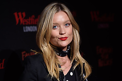 Laura Whitmore attending the Fashion for Relief Charity pop-up store launch at Westfield, London. Photo credit should read: Matt Crossick/EMPICS Entertainment
