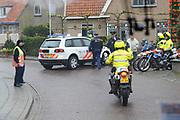 Koninginnedag 2010 . De Koninklijke familie in het zeeuwse Wemeldinge. / Queensday 2010. The Royal Family in Wemeldinge<br /> <br /> op de foto / on the photo :  Beveiliging / Security