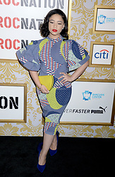 Vina Love attending Roc Nation's The Brunch at One World Trade Center in New York City, NY, USA, on January 27, 2018. Photo by Dennis van Tine/ABACAPRESS.COM