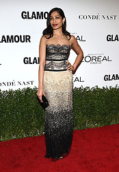 November 14, 2016 - Hollywood, California, U.S. - Freida Pinto arrives for the Glamour Women of the Year Awards 2016 at the Neuehouse Hollywood. (Credit Image: © Lisa O'Connor via ZUMA Wire)