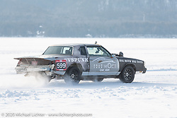 Vladimir Semenyuta's had a number of his Big Boys Big Toys cars entered into the Baikal Mile Ice Speed Festival. Maksimiha, Siberia, Russia. Saturday, February 29, 2020. Photography ©2020 Michael Lichter.