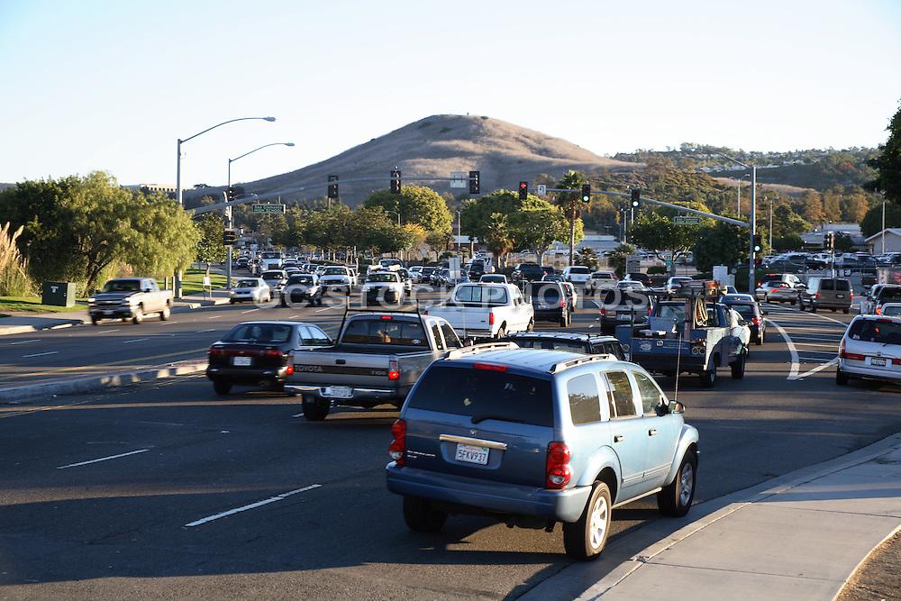 Morning Traffic on Pico Heading East