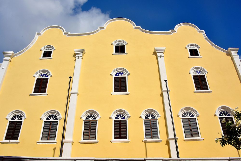Mikvé Israel-Emanuel Synagogue in Punda, Eastside of Willemstad, Curaçao <br /> The island's Jewish congregation dates back to 1651 when Joao Ilhao arrived from Portugal.  Soon afterwards Jewish immigrants came from Amsterdam.  In 1659, they created a cemetery. It is now oldest Jewish cemetery in the Western Hemisphere. Their first house of worship was purchased in 1674 and their second was consecrate in 1692.  The current Mikvé Israel-Emanuel Synagogue was built in 1730. This makes Snoa the oldest synagogue in the Americas. It became a National Monument in 1995. Inside is a fascinating Jewish Cultural Historical Museum.