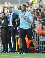 Football - 2016 /2017 Championship - Fulham vs Queens Park Rangers<br /> <br /> QPR goalkeeping coach, Gavin Ward at Craven Cottage<br /> <br /> Credit : Colorsport / Andrew Cowie