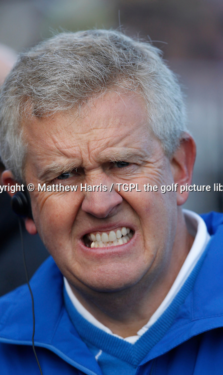Europe's captain Colin MONTGOMERIE (EUR) Session Four_Singles during Ryder Cup 2010,Celtic Manor,Newport,Wales.