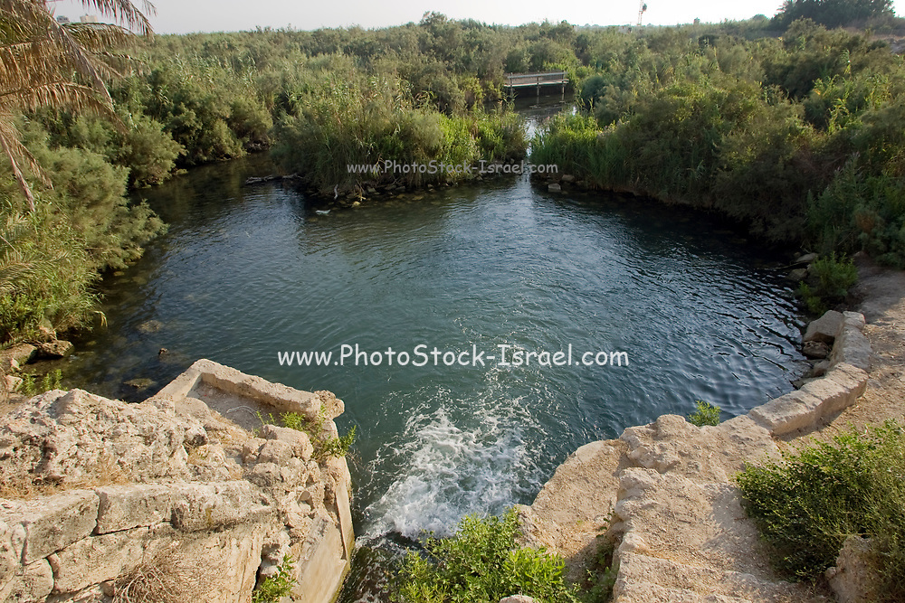 Israel, Maagan Michael, Nahal Taninim - Crocodile Stream national park