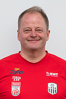 Download von www.picturedesk.com am 16.08.2019 (13:58). <br /> PASCHING, AUSTRIA - JULY 16: Kit manager Klaus Fischill of LASK during the team photo shooting - LASK at TGW Arena on July 16, 2019 in Pasching, Austria.190716_SEPA_19_068 - 20190716_PD12425