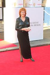 © Licensed to London News Pictures. 18/05/2014, UK. Cilla Black, Arqiva British Academy Television Awards - BAFTA, Theatre Royal Drury Lane, London UK, 18 May 2014. Photo credit : Richard Goldschmidt/Piqtured/LNP