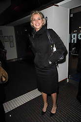 HOLLY BRANSON at the premier of Tenacity on the Tasman at the Odeon Leicester Square, London on 19th November 2009.