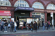 General view of Holloway Road Underground station. Premier league match, Arsenal v Middlesbrough at the Emirates Stadium in London on Saturday 22nd October 2016.<br /> pic by John Patrick Fletcher, Andrew Orchard sports photography.