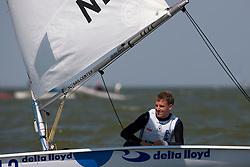 Laser, May 25th 2012. Delta Lloyd Regatta  (22/26 May 2012). Medemblik - the Netherlands.