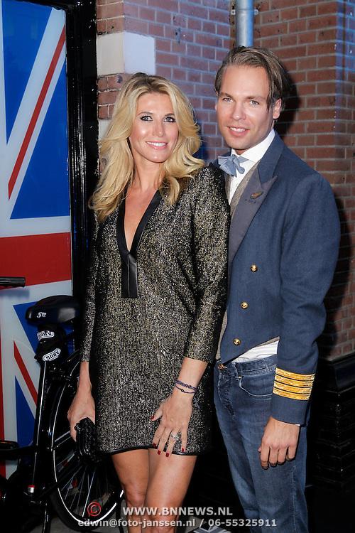 NLD/Amsterdam/20120905- Opening Thimothy Oulton shop Amsterdam, Danielle Oerlemans - Overgaag en ...............