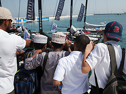 Third day of Racing, 22nd of February. Extreme Sailing Series, Act 1, Muscat, Oman (20 - 24 February 2011) © Sander van der Borch / Artemis Racing