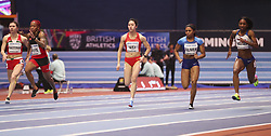 2018?3?2?.     ?????1???——????????60?????.        3?2??????????????????.        ????????????2018???????????60?????????7?35?????????????????.        ???????? .(SP) BRITAIN-BIRMINGHAM-TRACK AND FIELD-IAAF WORLD INDOOR CHAMPIONSHIPS DAY 2.(180302) -- LONDON, Mar. 2, 2018  Wei Yongli (3rd L) of China competes in the women's 60 metres round 1 match during the IAAF World Indoor Championships at Arena Birmingham in Birmingham, Britain on Mar. 2, 2018. (Credit Image: © Han Yan/Xinhua via ZUMA Wire)