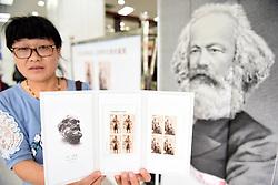 May 5, 2018 - Huainan, Huainan, China - Huainan, CHINA-5th May 2018: China Post issues commemorative stamps for Karl Marx's 200th birthday. (Credit Image: © SIPA Asia via ZUMA Wire)