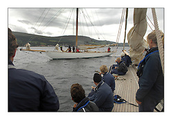 Day Sail on the Wm Fife Designed Mariquita ....* The Fife Yachts are one of the world's most prestigious group of Classic .yachts and this will be the third private regatta following the success of the 98, .and 03 events.  .A pilgrimage to their birthplace of these historic yachts, the 'Stradivarius' of .sail, from Scotland's pre-eminent yacht designer and builder, William Fife III, .on the Clyde 20th -27th June.   . ..More information is available on the website: www.fiferegatta.com . .Press office contact: 01475 689100         Lynda Melvin or Paul Jeffes