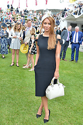 Singer UNA FODEN at day 3 of the Qatar Glorious Goodwood Festival at Goodwood Racecourse, Chechester, West Sussex on 28th July 2016.