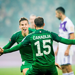 20171111: SLO, Football - Slovenian Cup 2017/18, Quarterfinals, NK Olimpija vs NK Maribor