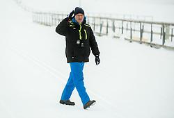 Andrej Jelenc of Slovenian Kayak Canoe National Team at Winter training of Cross country and Biathlon, on January 7, 2015 in Rudno polje, Pokljuka, Slovenia.  Photo by Vid Ponikvar / Sportida