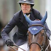 NORTH SALEM, NEW YORK - May 15: Lauren Tisbo, USA, riding Rosier Vesquerie, in action during The $50,000 Old Salem Farm Grand Prix presented by The Kincade Group at the Old Salem Farm Spring Horse Show on May 15, 2016 in North Salem. (Photo by Tim Clayton/Corbis via Getty Images)