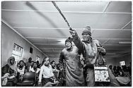 07-11-2017 Foto's genomen tijdens een persreis naar Buffalo City, een gemeente binnen de Zuid-Afrikaanse provincie Oost-Kaap. Mlakalaka - Komedie in school