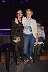 """Mary McCartney and Lily Cole at """"Hoping For Palestine"""" Benefit Concert For Palestinian Refugee Children held at The Roundhouse, Chalk Farm Road, England. 04 June 2018. <br /> Photo by Dominic O'Neill/SilverHub 0203 174 1069/ 07711972644 - Editors@silverhubmedia.com"""