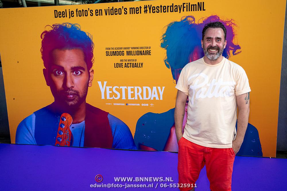 NLD/Amsterdam/20190624 - speciale voorvertoning Yesterday, Horace Cohen