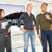 NLD/Amsterdam/20171123 - Presentatie 1e Humberto Magazine, Humberto Tan en partner Ineke Geenen en Vincent