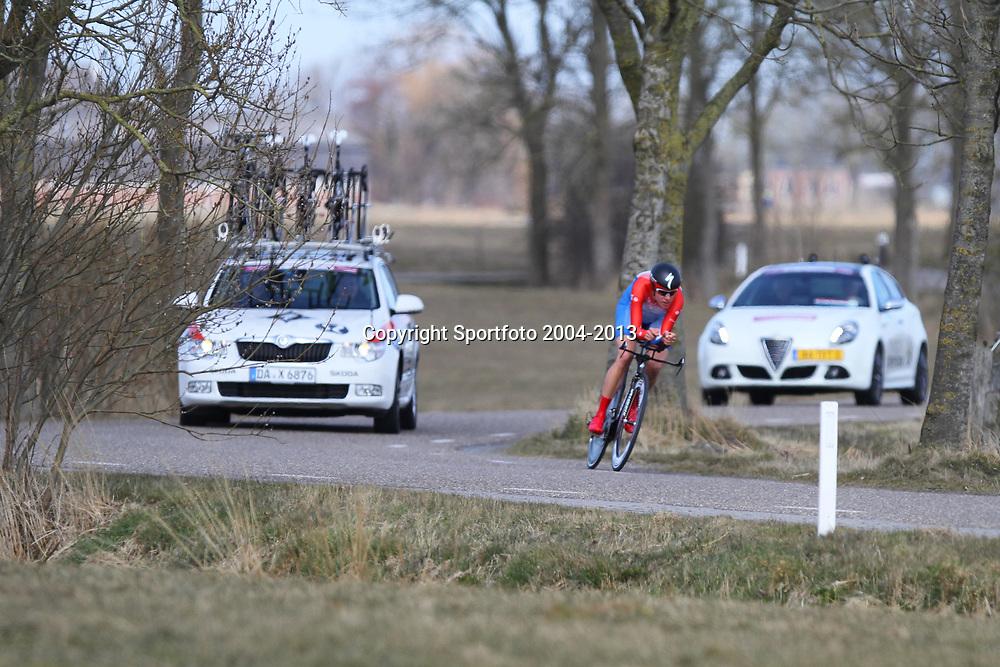 Energieswacht Tour stage 3 Winsum Ellen van Dijk wins ITT and becomes new leader