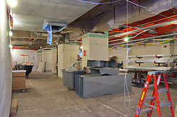 Sterling Memorial Library SML Tech Services Construction Progress. Second Photo Submission. First Floor.