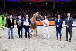 165, Monsieur VDL<br /> KWPN hengstenkeuring - 's Hertogenbosch 2020<br /> © Hippo Foto - Dirk Caremans<br /> 30/01/2020