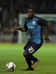 QPR's Junior Hoilett - Photo mandatory by-line: Harry Trump/JMP - Mobile: 07966 386802 - 11/08/15 - SPORT - FOOTBALL - Capital One Cup - First Round - Yeovil Town v QPR - Huish Park, Yeovil, England.