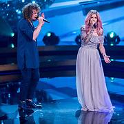 NLD/Baarn/20180410 - 2018 finale 'It Takes 2, Dionne Slagter met Marcel Veenendaal